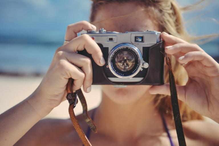 Kamera sommar tävla om en gratis bokning